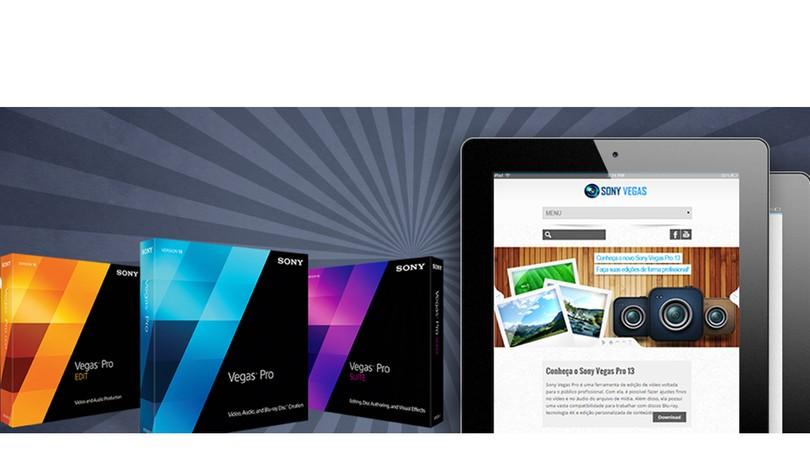 74aead8b6 Vegas Pro 14 | Download | TechTudo