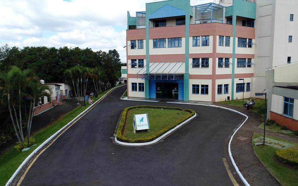 Centro Infantil Boldrini, hospital referência no tratamento de câncer e doenças do sangue, em Campinas (Foto: Reprodução/TV Globo)