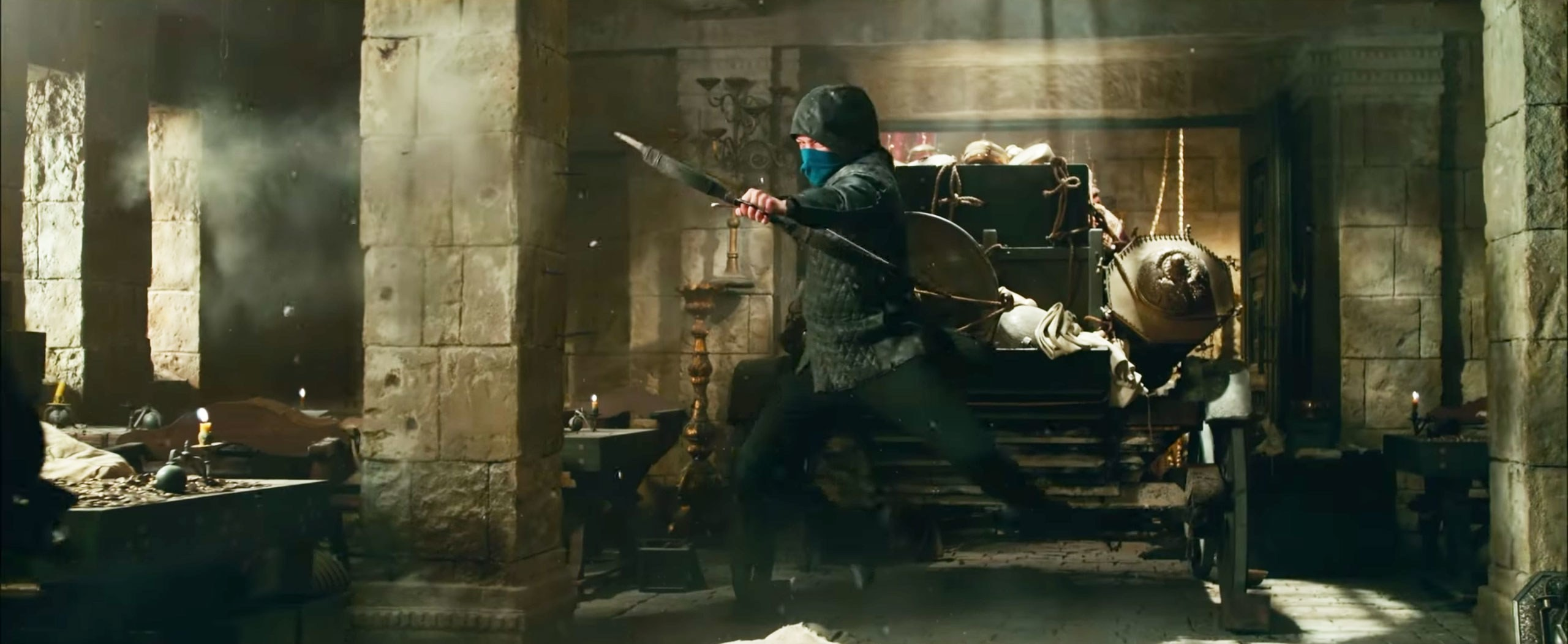 Nova versão de Robin Hood é moderna e cheia de ação (Foto: Divulgação)