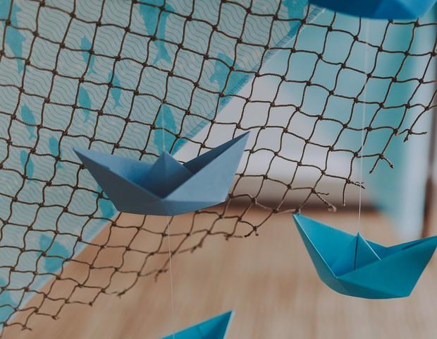 Decoração aérea é tendência na decoração das festas (Foto: Reprodução Instragram/Pati.Freitas)