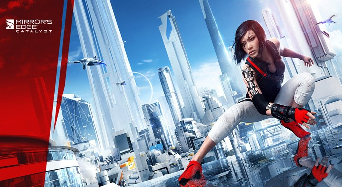 Faith tamb?m retorna no novo Mirrors Edge (Foto: Divulga??o)