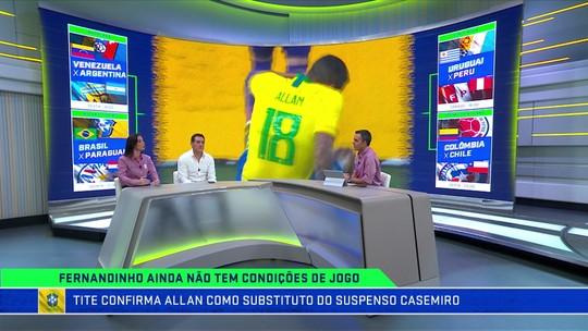 """Nadja aprova mudanças na Seleção, e Gamarra aconselha Paraguai a """"jogar fechadinho"""""""
