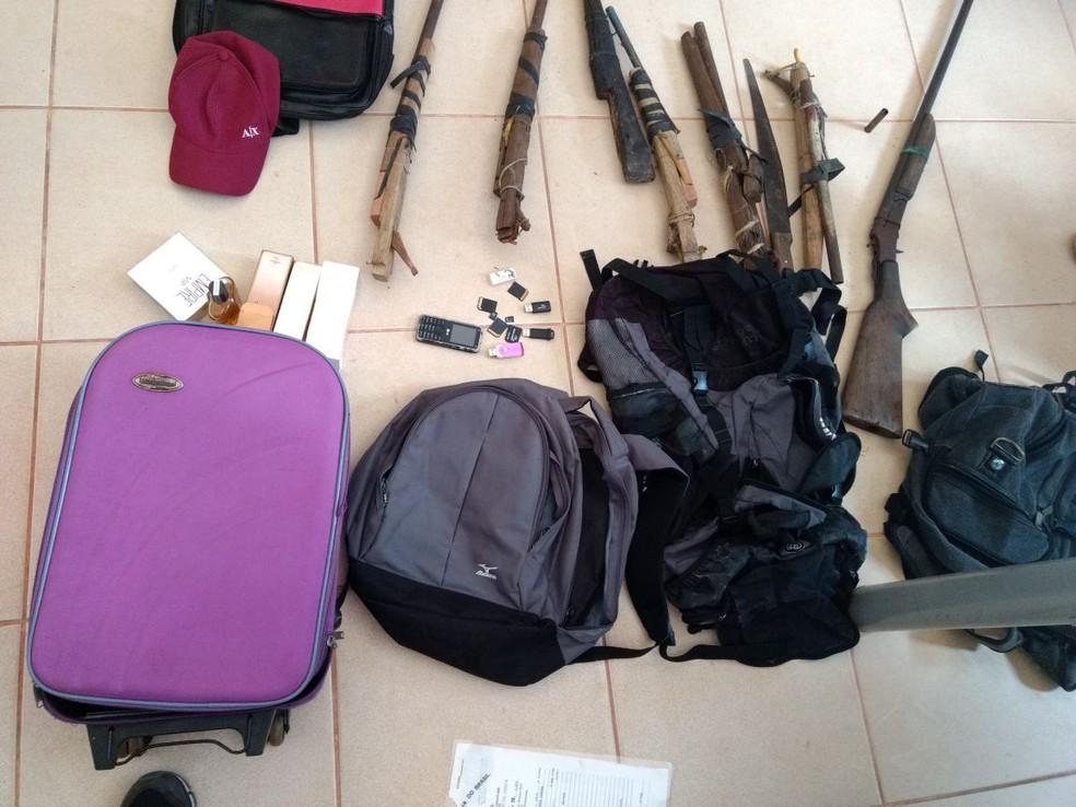 -  Material apreendido  Foto: Polícia Civil