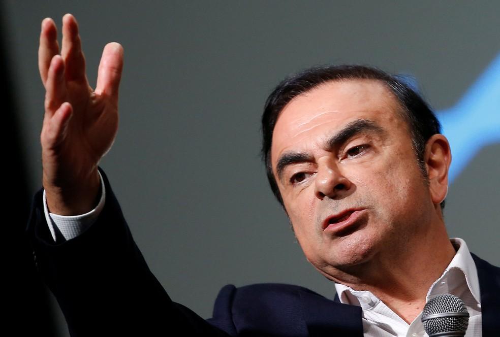 Carlos Ghosn — Foto: Eric Gaillard/Reuters