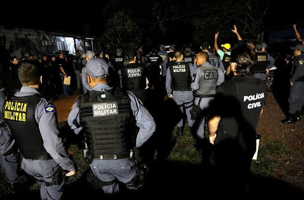 Entre policiais militares e civis, 1.766 são homens e 840 mulheres em MT — Foto: Lenine Martins/Sesp-MT