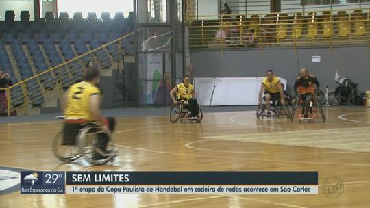 Projeto em São Carlos inclui cadeirantes em modalidade de handebol