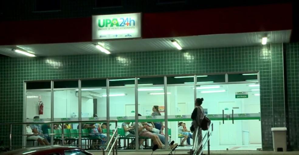 Caso aconteceu na UPA do bairro Satélite, Zona Leste de Teresina.  — Foto: Reprodução/TV Clube
