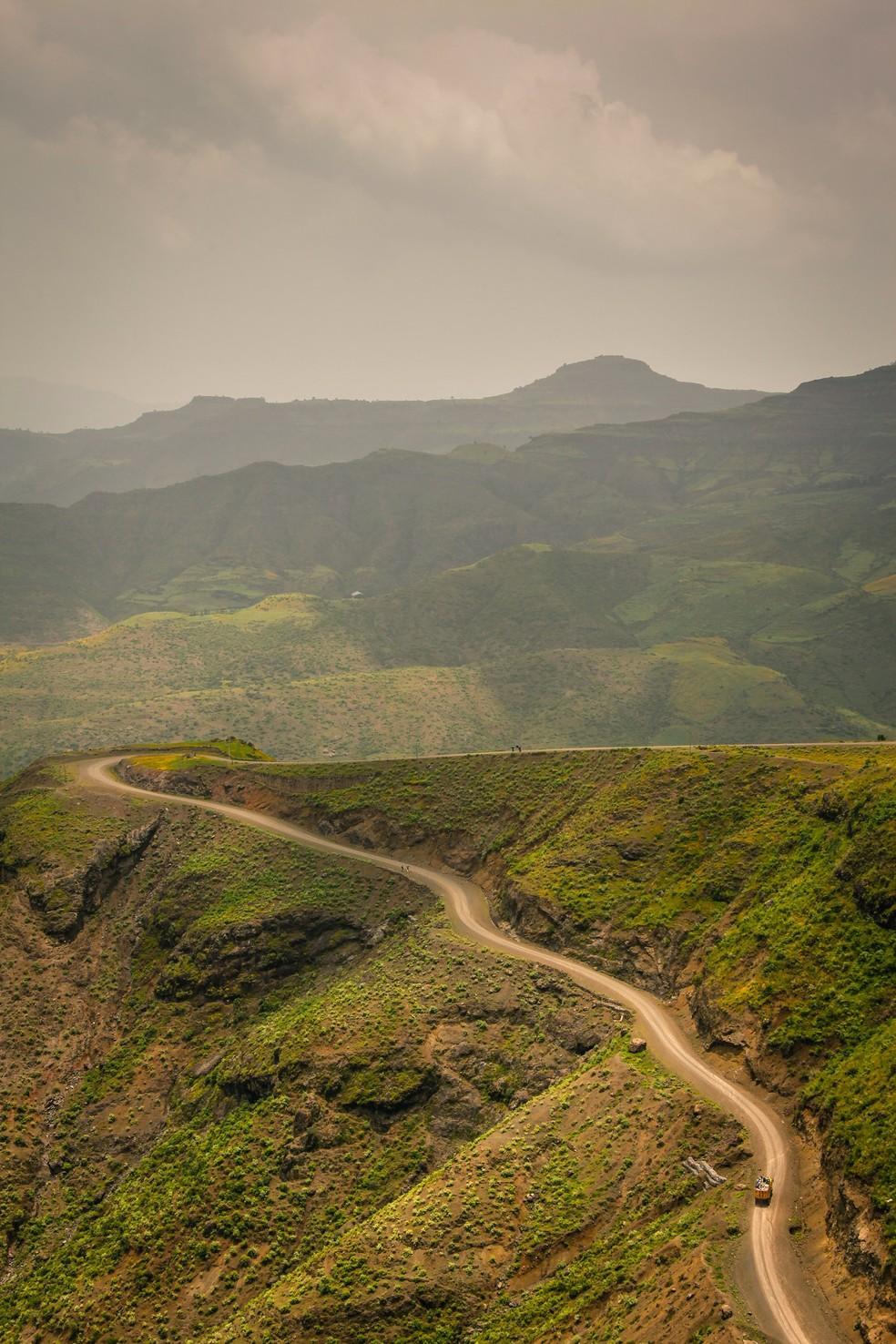 Plantio de árvores na Etiópia busca combater degradação ambiental que o país sofre  — Foto: Unsplash