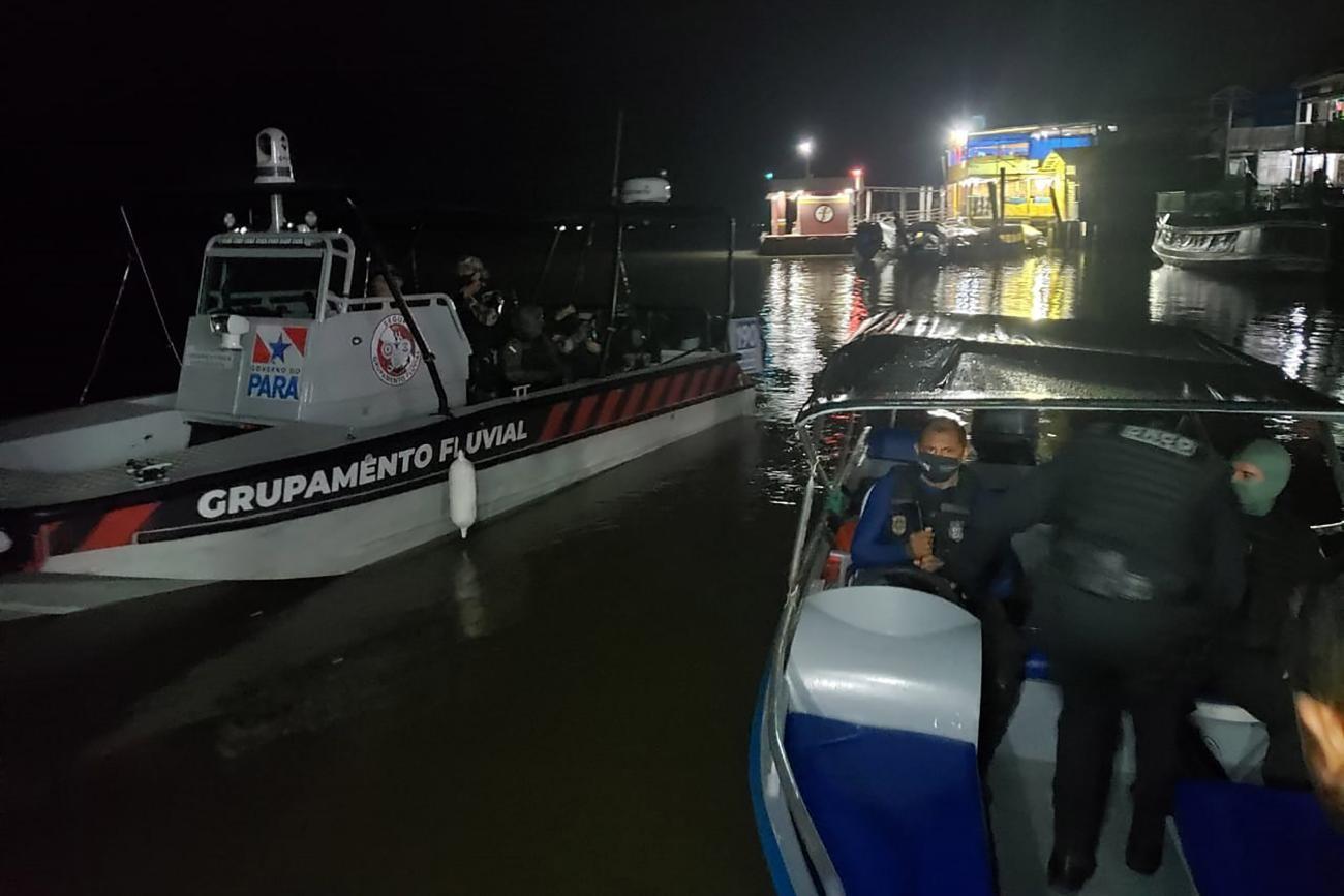 Dois suspeitos de praticar assaltos no Pará são mortos em operação policial