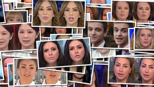 Softwares conseguem alterar expressões faciais em uma gravação original ou até substituir rostos inteiros (Foto: TUM VISUAL COMPUTING/BBC NEWS BRASIL)