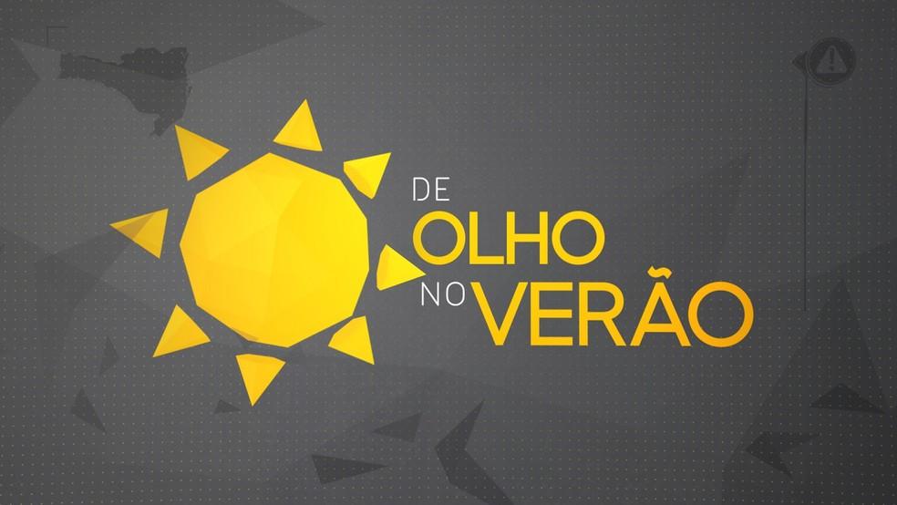 Logo 'De olho no verão' — Foto: NSC/Divulgação