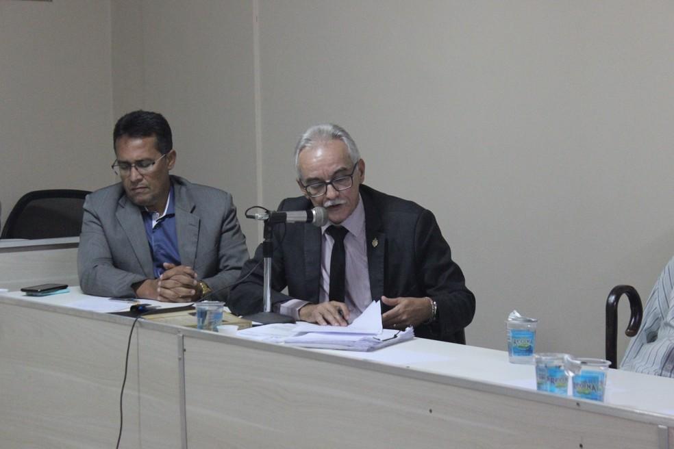 Voto do relator foi acompanhado por todos os demais auditores presentes (Foto: Wenner Tito/GloboEsporte.com)