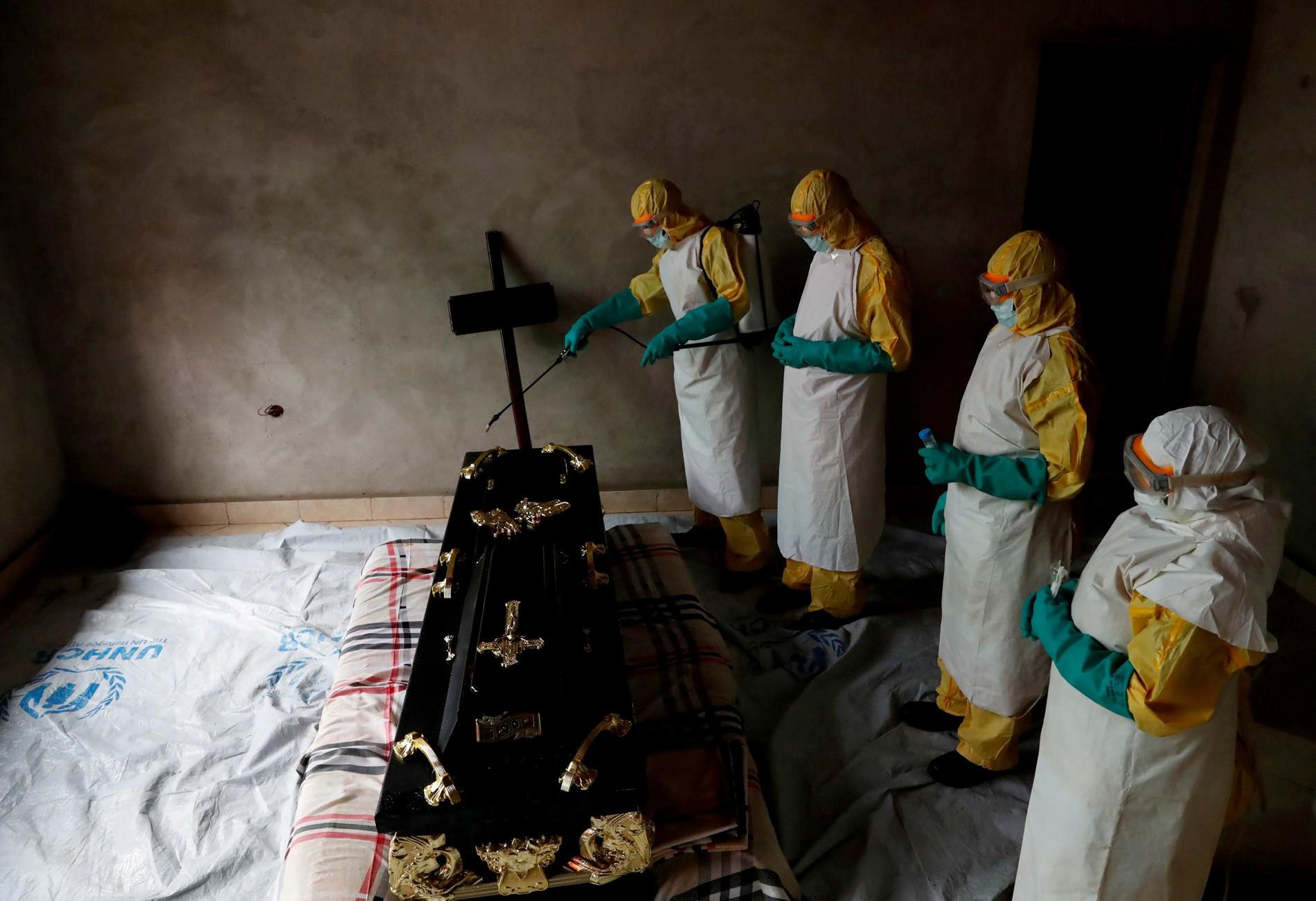 Rep. Democrática do Congo tem segundo pior surto de Ebola da história