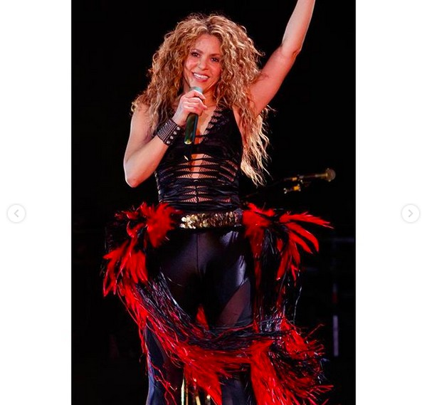 A cantora Shakira (Foto: Instagram)