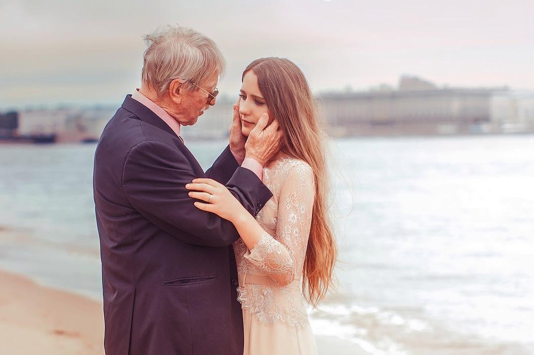 Ivan e Natalia Krasko em momento romântico (Foto: Reprodução instagram)