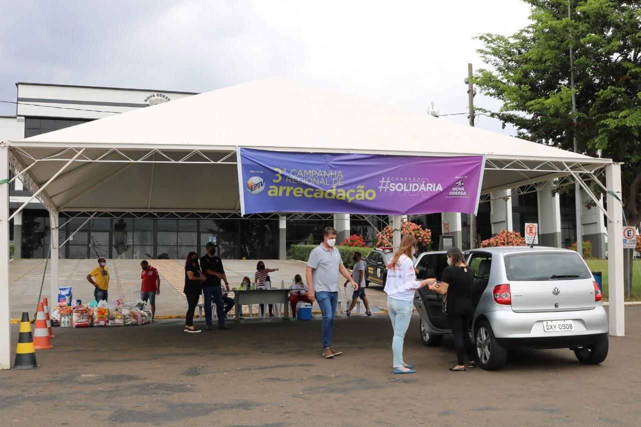 Nova Odessa promove drive-thru solidário para arrecadação de roupas, alimentos e ração