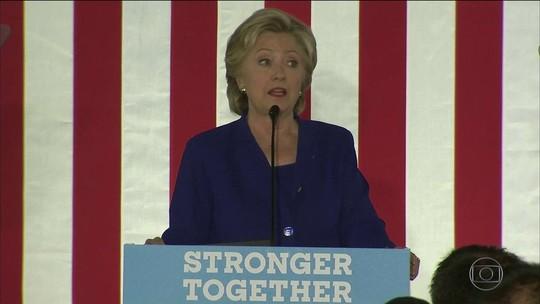 Hillary Clinton tenta conquistar votos dos latinos na reta final