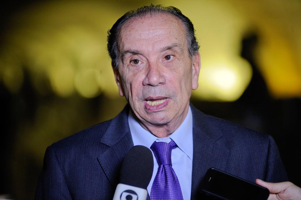 O ministro das Relações Exteriores, Aloysio Nunes (PSDB-SP) (Foto: Pedro França/Agência Senado)
