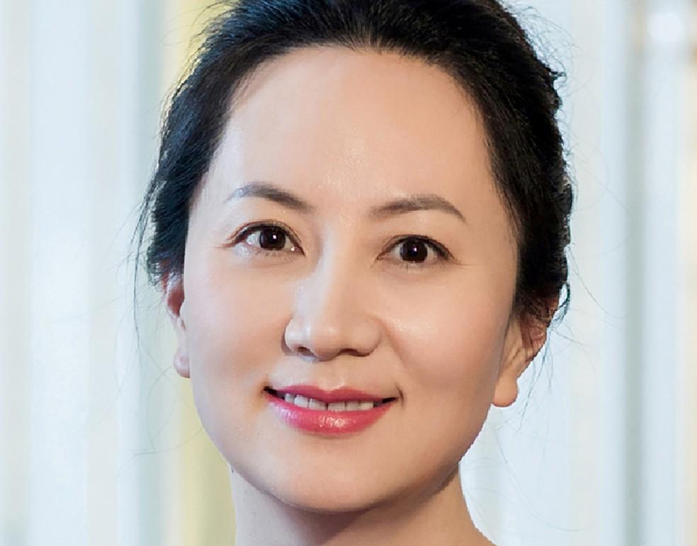Meng Wanzhou, diretora financeira da Huawei, presa no Canadá — Foto: Reuters