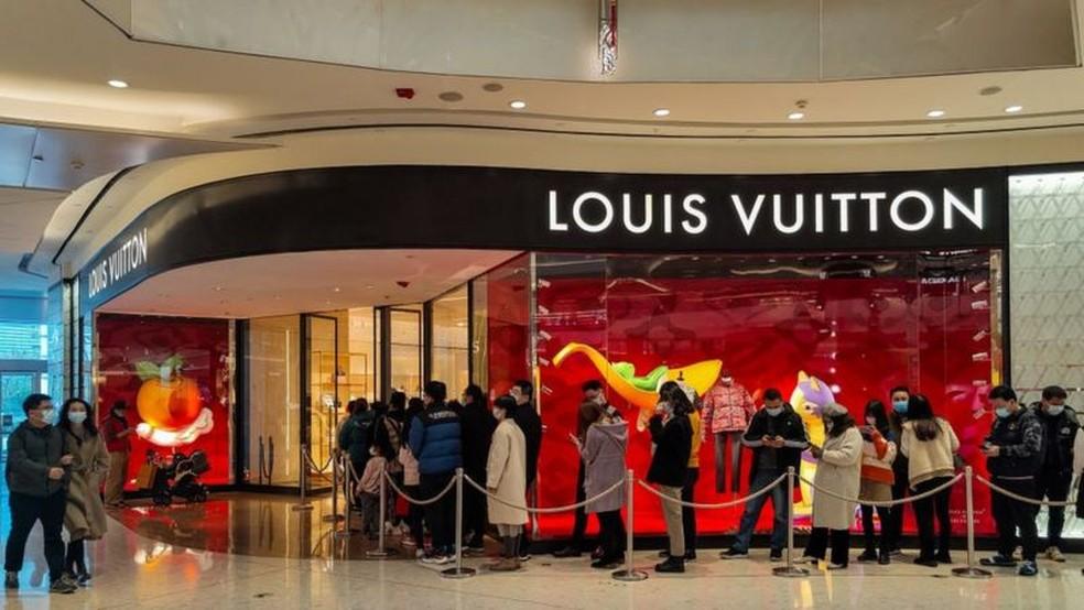 A China ultrapassou o Japão como o principal mercado de luxo pessoal da Ásia-Pacífico — Foto: Getty Images via BBC