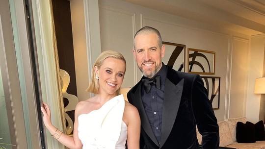 Reese Witherspoon celebra aniversário do marido e se declara: 'Eu te amo tanto'