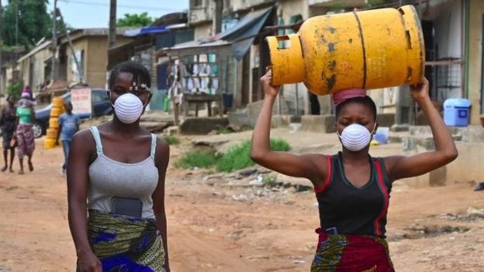 OMS alerta que o coronavírus pode matar cerca de 190 mil pessoas na África nos próximos 12 meses — Foto: Getty Images/ BBC