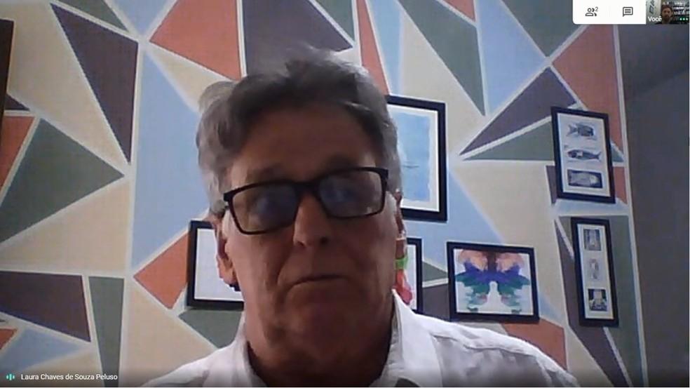 PDT retira candidatura de ex-professor universitário José Márcio Peluso — Foto: Reprodução/RPC
