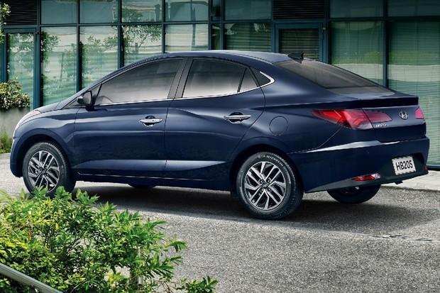 Hyundai HB20S foi lançado há pouco tempo (Foto: Divulgação)