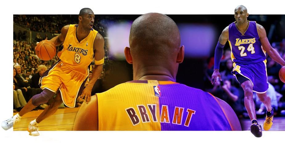Raio X: Kobe Bryant brilhou mais usando a camisa número 8 ou 24 nos Lakers?  | nba | Sportv