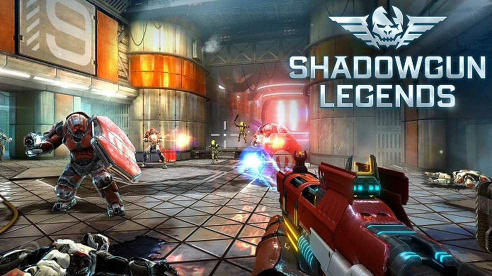 Adrenalina intergalática e muita ação são promessas de Shadowgun Legends — Foto: Divulgação/MADFINGER Games