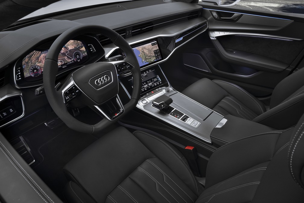 Interior do Audi A7 (Foto: Audi/Divulgação)