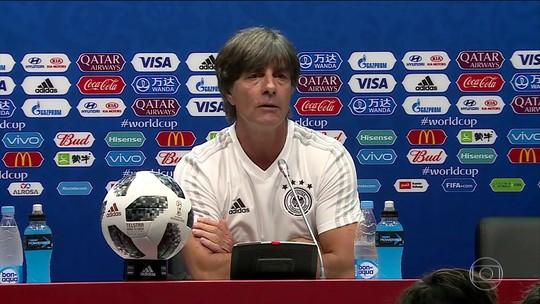 Alemanha vai enfrentar Suécia preocupada com a classificação para a próxima fase