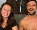 Mari Bridi e Rafael Cardoso | Reprodução