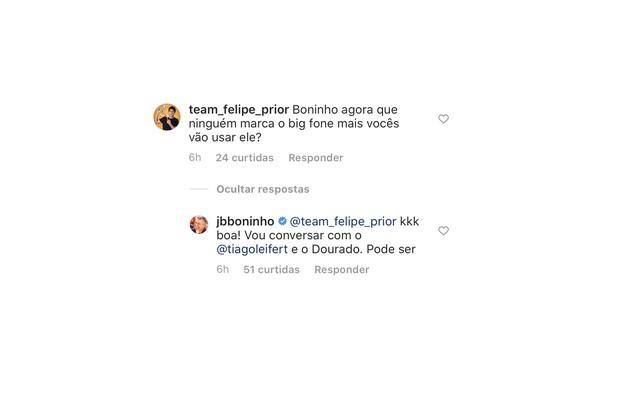 Boninho cogita usar novamente o Big Fone. Ele prometeu conversar com o apresentador do reality, Tiago Leifert, e com o diretor geral, Rodrigo Dourado (Foto: Reprodução)