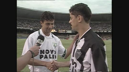Você se lembra? Zagueiro decide, e América-MG vence clássico contra Atlético-MG, em 2000