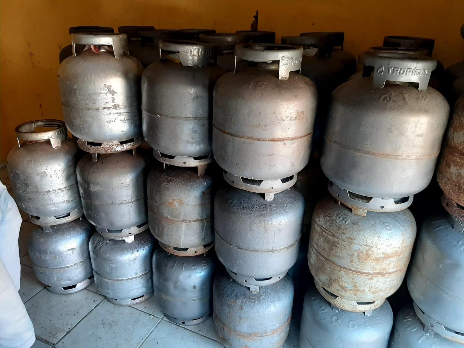 Depósitos clandestinos de gás de cozinha são fechados na Grande São Luís e no interior do Maranhão
