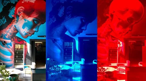 Diversas fases do trabalho de Insane 51 (Foto: Divulgação)