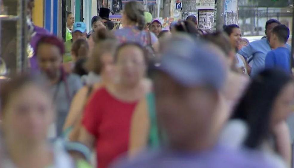 População do ES em 2017 foi estimada em 4,012 milhões de pessoas (Foto: Reprodução/TV Morena)