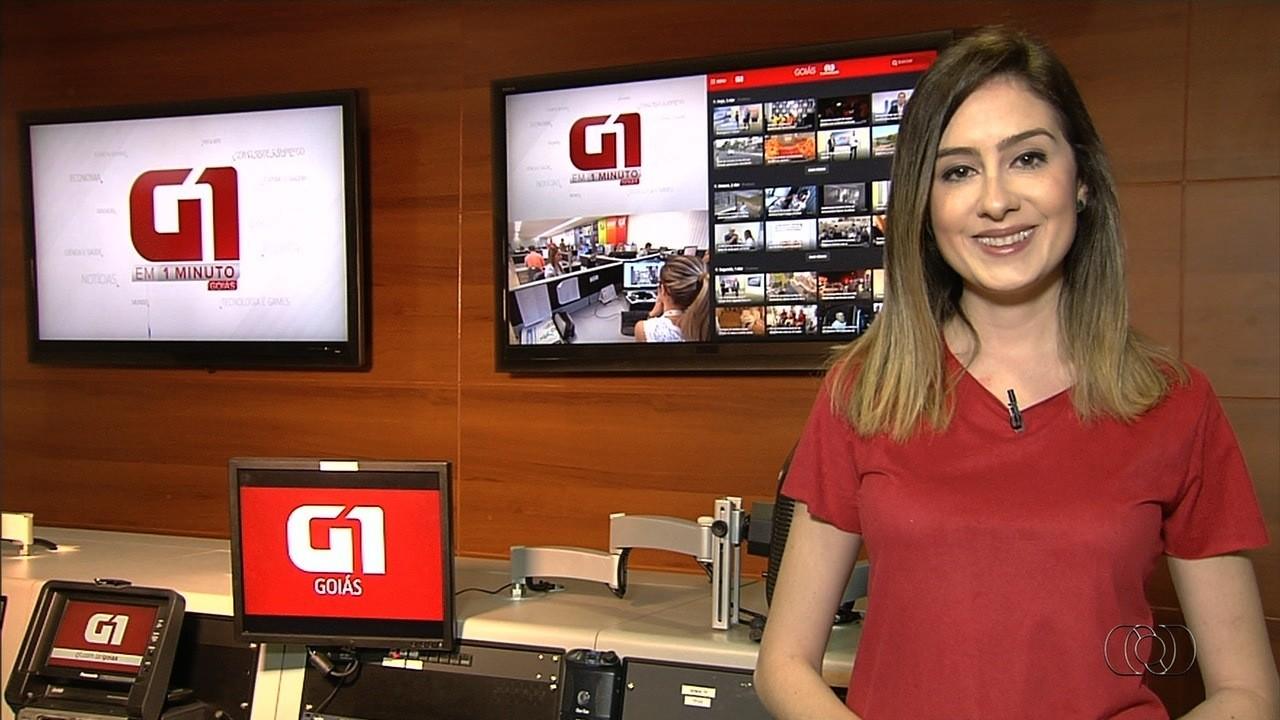VÍDEOS: G1 em 1 Minuto - Goiás, de 3 a 7 de agosto de 2020