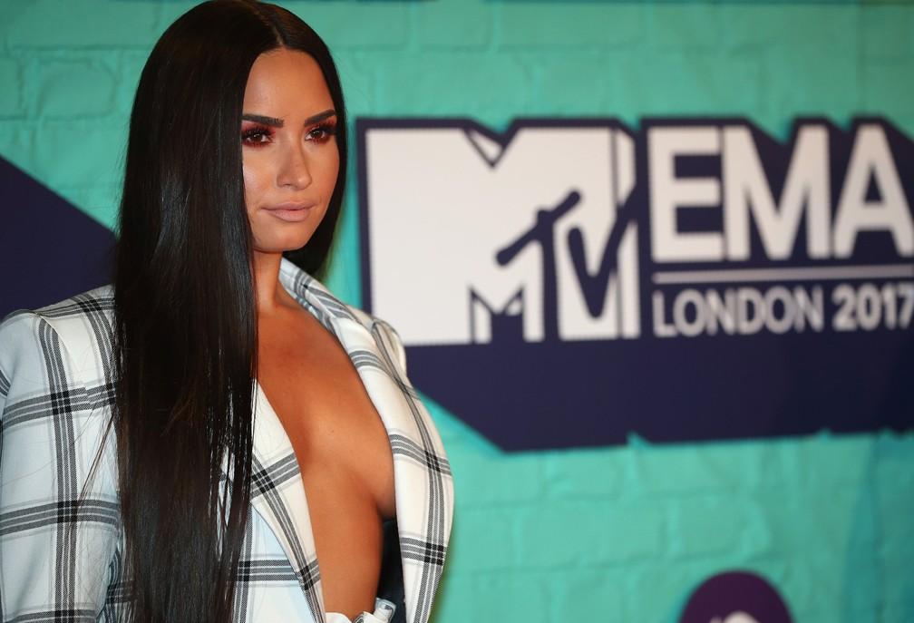 Demi Lovato no MTV EMA 2017 (Foto: Reuters/Hannah McKay)