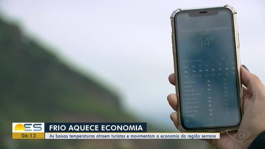 Baixas temperaturas aquecem a economia e atraem turistas para a Região Serrana do ES