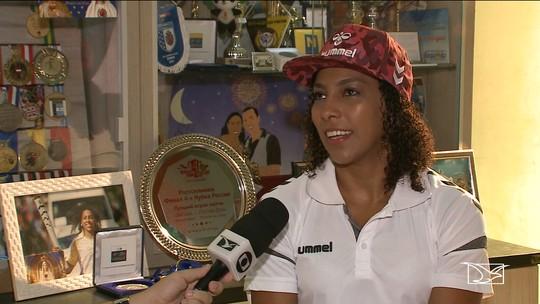 Jogadora maranhense da Seleção Brasileira de Handebol fala sobre seus projetos