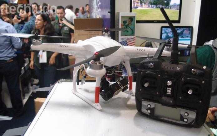 Drone Free-X (Foto: Pedro Zambarda/TechTudo)