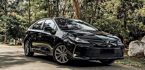 Toyota Corolla Altis Hybrid (Foto: Rafael Munhoz)
