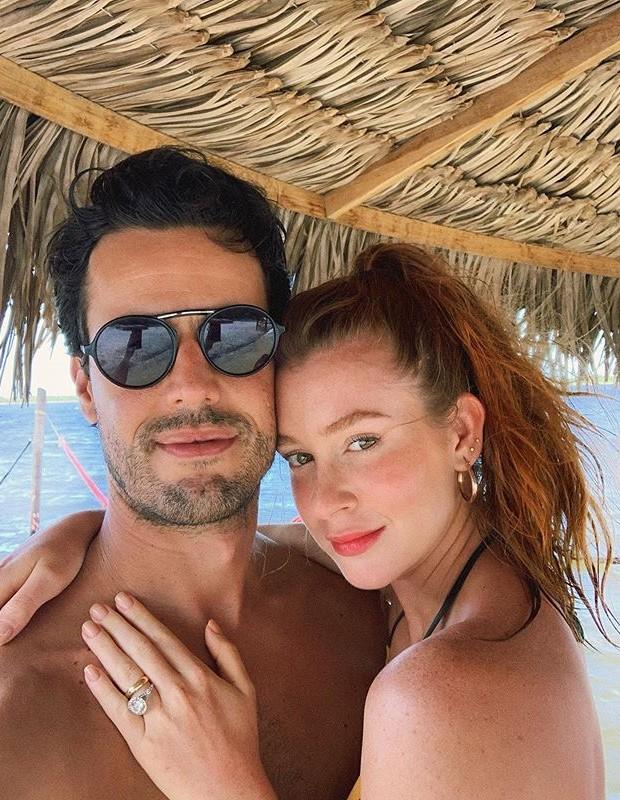 Marina Ruy Barbosa e marido (Foto: Reprodução)