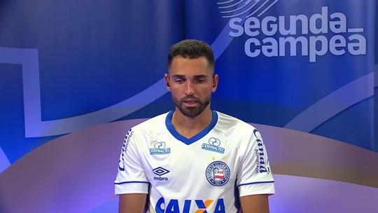 """Gilberto fala dos objetivos do Bahia para o Brasileirão: """"Chegar na parte de cima da tabela"""""""