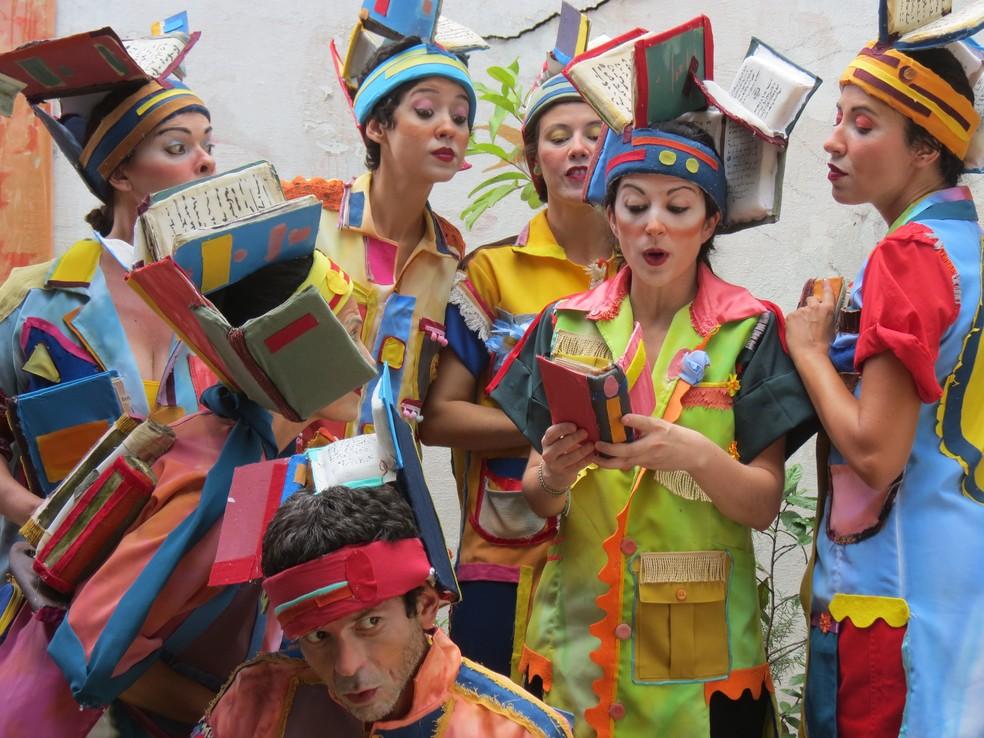 Grupo incentiva leitura em Bauru e região — Foto: Divulgação