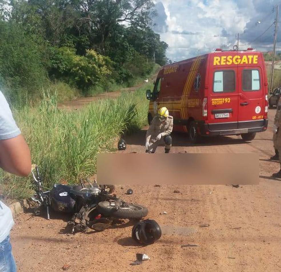 Mulher e grávida morrem atropeladas por caminhão conduzido por motorista com CNH vencida em Barra do Garças — Foto: Divulgação