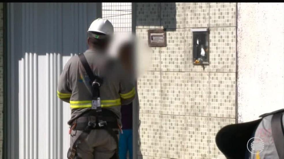 Polícia alerta moradores para identificação de leituristas — Foto: Reprodução/TV Clube