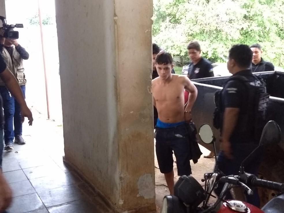 Operação Caeds em Porto Velho — Foto: Diêgo Holanda/G1
